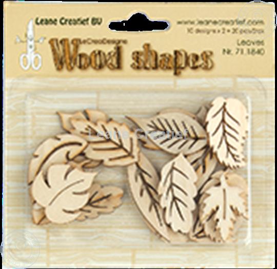 Afbeelding van Woodshapes Leaves