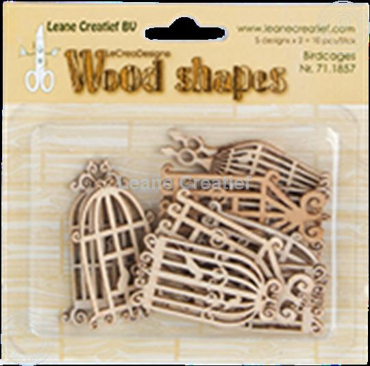 Afbeelding van Woodshapes birdcages