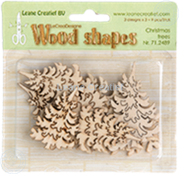 Bild von Woodshapes Christmas trees