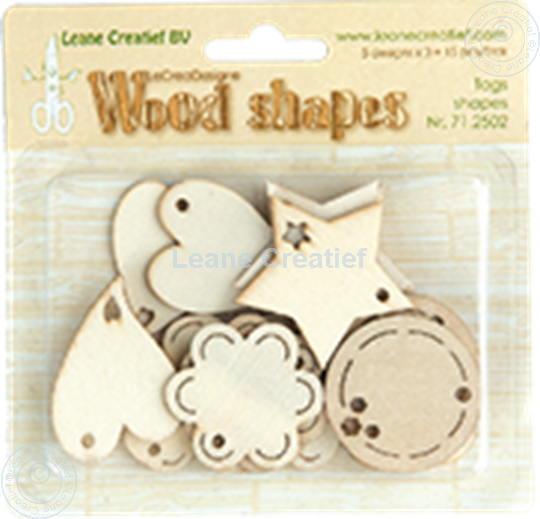 Picture of Woodshapes Tag shapes