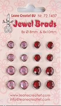 Bild von Jewel brads bordeaux / light pink