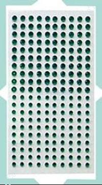 Image de LeCreaDesign® Pierres strass autocollants vert