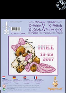 Afbeeldingen van Mylo & Friends® kruissteek borduur pakket #3
