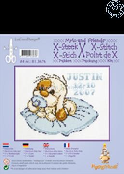 Afbeeldingen van Mylo & Friends® kruissteek borduur pakket #4