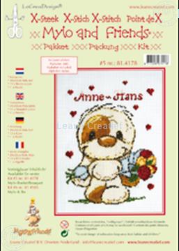 Afbeeldingen van Mylo & Friends® kruissteek borduur pakket #5