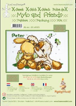 Afbeeldingen van Mylo & Friends® kruissteek borduur pakket #6