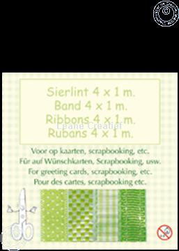 Image de Ruban 4x1 m vert