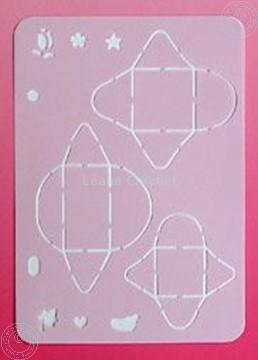 Image de LeCreaDesign® Pochoirs de mini-enveloppes