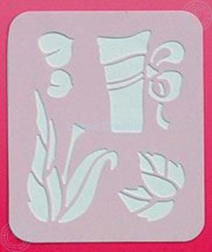 Picture of LeCreaDesign® Spirella® stencil garden
