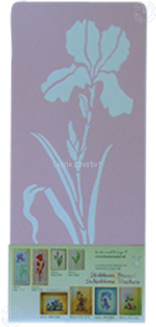 Picture of LeCreaDesign® Stencil Iris large