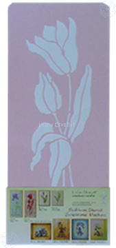 Picture of LeCreaDesign® Stencil Tulip large
