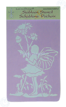 Picture of LeCreaDesign® Stencil Fairy 1