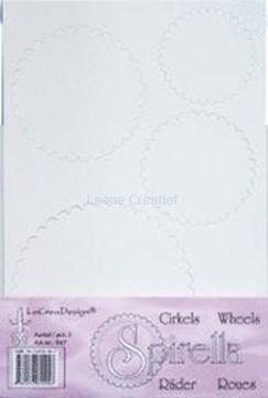 Afbeeldingen van LeCreaDesign® Spirella wieltjes #1