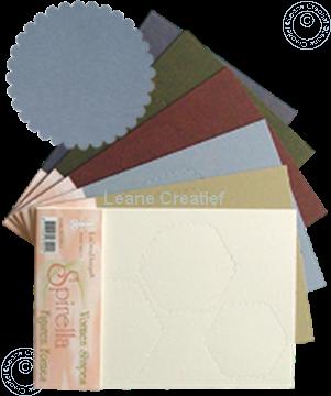 Afbeeldingen van LeCreaDesign® Spirella variaties zilver