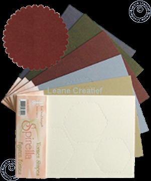 Afbeeldingen van LeCreaDesign® Spirella variaties koper