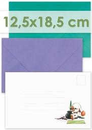 Bild für Kategorie Briefumschläge 12,5x18,5cm