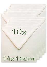 Bild für Kategorie Briefumschläge 14x14cm