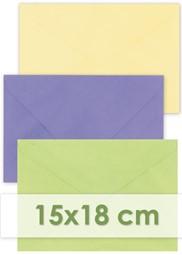 Bild für Kategorie Briefumschläge 15x18cm