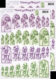 Image de la catégorie Images pyramide fleurs