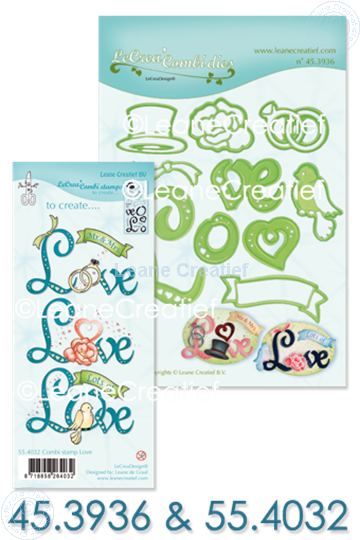 Bild von Set Lea'bilitie & Clearstamp Love