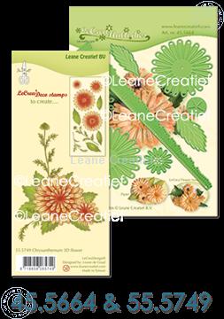 Picture of  Multi die & Clear stamp Chrysanthemum