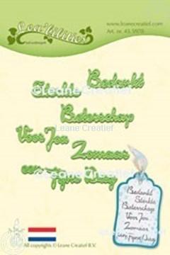 Afbeeldingen van Lea'bilitie® Nederlandse teksten 2. snijmal