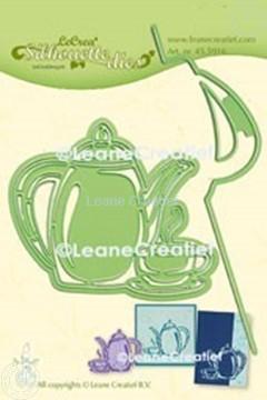 Image de Lea'bilitie® Heure du café silhouette matrice pour découper & embossing