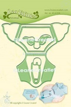 Picture of Lea'bilitie® Baby diaper cut and embossing die