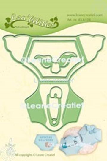 Afbeelding van Lea'bilitie® Baby luier snij en embossing mal