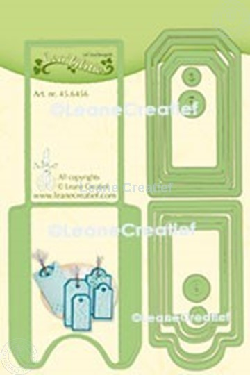 Picture of Lea'bilitie® Pocket & Labels cut and embossing die