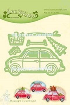 Image de Lea'bilitie® Auto Fiat 500 matrice pour découper & gaufrage