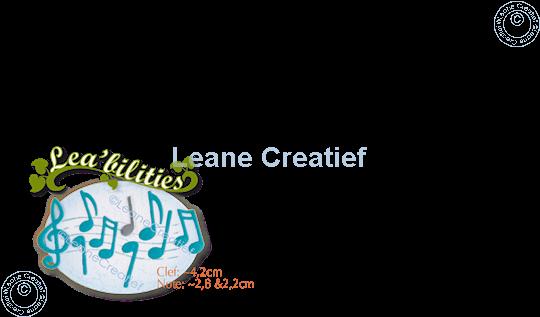 Picture of Lea'bilitie® Musical symbols cutting die
