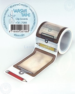 Image de Washi tape Clip boards, 45mm x 5m.
