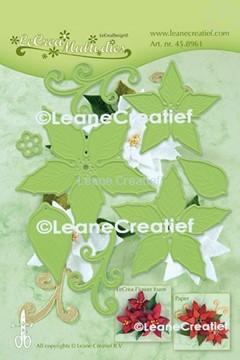 Image de Multi die flower 004 Poinsettia