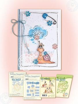 Image de Snail baby card