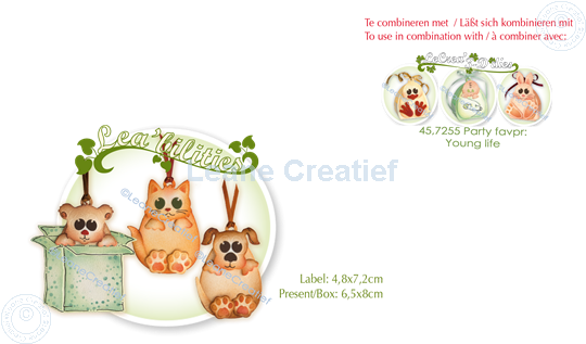 Image sur Lea'bilitie® fête de animal domestique & cadeau matrice pour découper & gaufrage