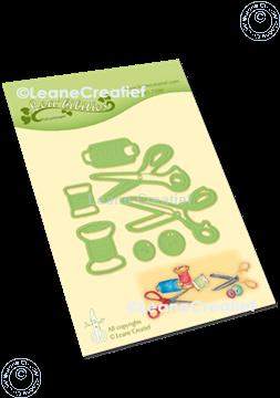 Image de Lea'bilitie®  Aiguille, fil & ciseaux matrice pour découper & gaufrage