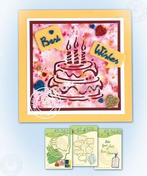 Afbeeldingen van Silhouette Birthdaycake