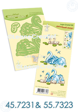 Picture of Set Silhouette die & Clearstamp Swans