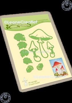 Image de Lea'bilitie® Automne - Champignons matrice pour découper & gaufrage
