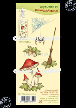 Picture of LeCreaDesign® combi clear stamp Autumn time
