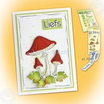 Picture of Mushrooms 'liefs'